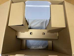 ルンバ i3+の梱包